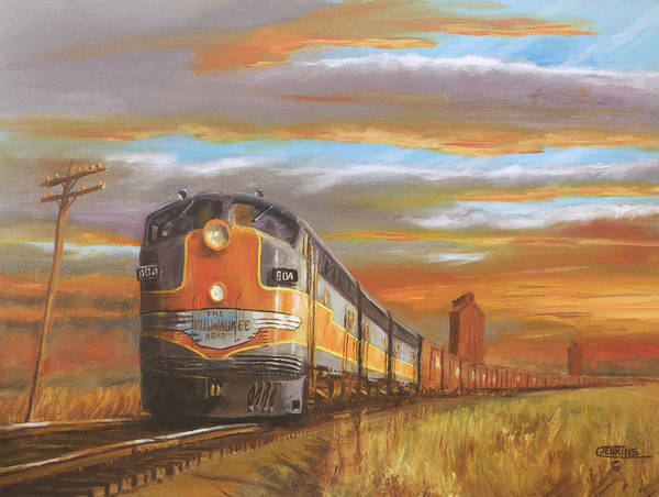 Wall Art - Painting - Wheat....from North Dakota by Christopher Jenkins