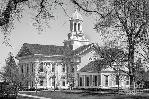 Photograph - Wheaton College Mary Lyon Hall by University Icons