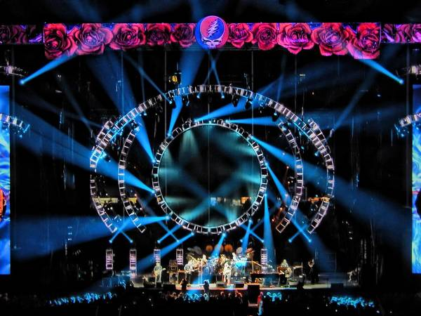 Phil Lesh Photograph - Wheel Is Turning by David Powell