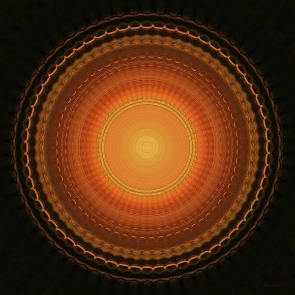 Voyage Digital Art - Wheel Kaleidoscope by Wim Lanclus