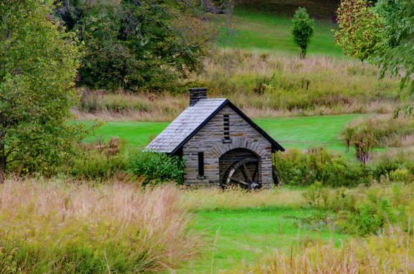 Chestnut Hill Photograph - Wheel Mill - Chestnut Hill - Morris Arboretum by Bill Cannon