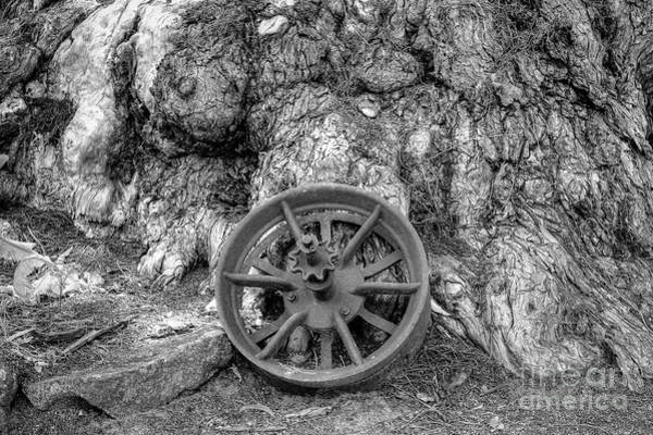Photograph - Wheel Of Time by Elaine Teague