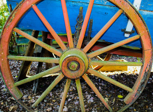 Photograph - Wheel by Stacey Rosebrock
