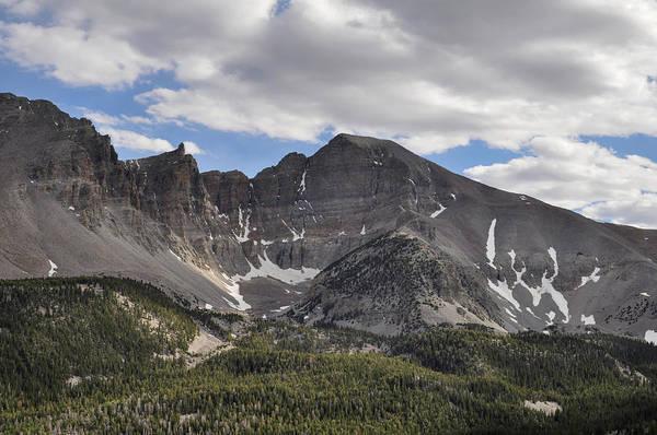 Photograph - Wheeler Peak Nevada Landscape by Kyle Hanson