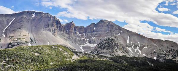 Photograph - Wheeler Peak Nevada Panorama by Kyle Hanson