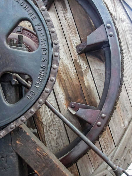 Wall Art - Photograph - Wheels And Sprockets by Tony Grider