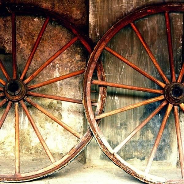 Wall Art - Photograph - Wheels by Jun Pinzon