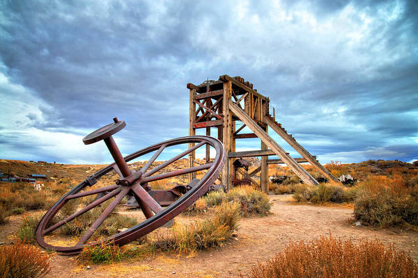 Photograph - Wheels Of Time by Lynn Bauer