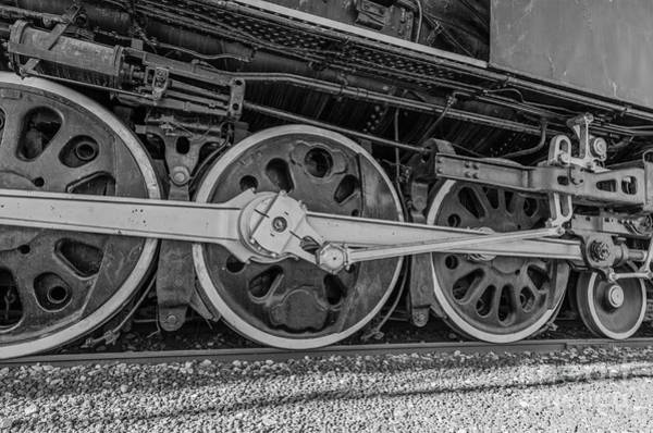 Photograph - Wheels On A Locomotive by Sue Smith
