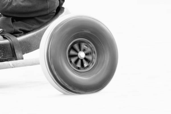 High Speed Photograph - Wheelspin by Nigel Jones
