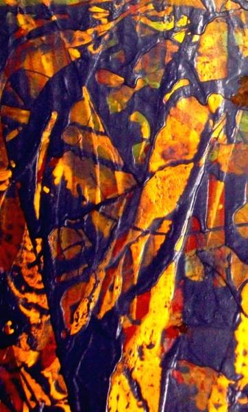 Trapeze Painting - When A Tree Falls Alone In A Forest 1 by Bruce Combs - REACH BEYOND