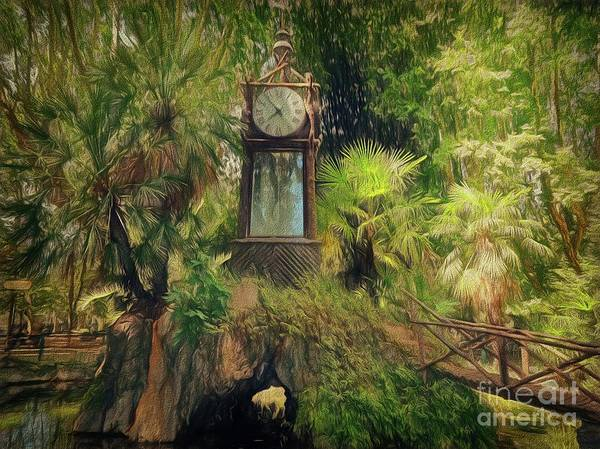 Digital Art - When In Rome 23 - Time Piece by Leigh Kemp