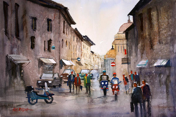 Wall Art - Painting - When In Rome... by Ryan Radke