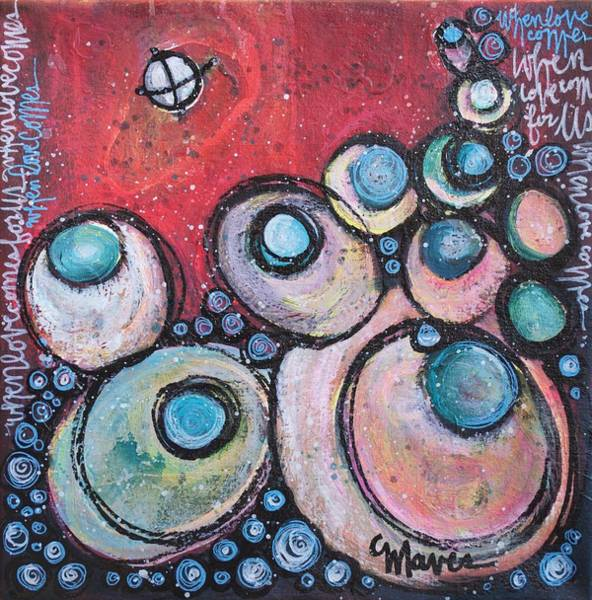 Painting - When Love Comes For Us by Laurie Maves ART