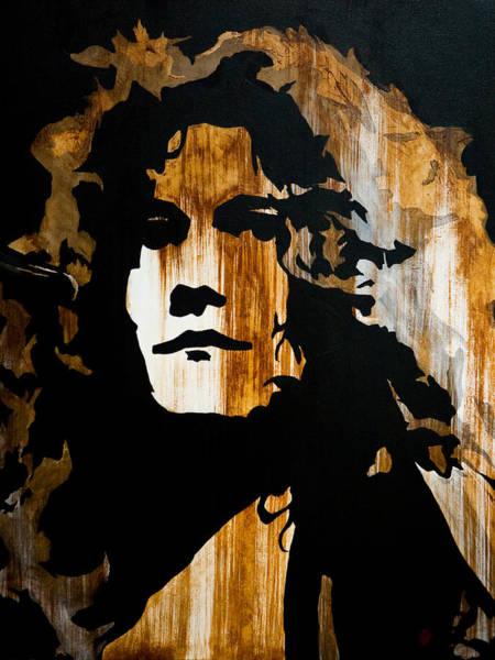 Led Zeppelin Painting - When Movin Through Kashmir  by Brad Jensen