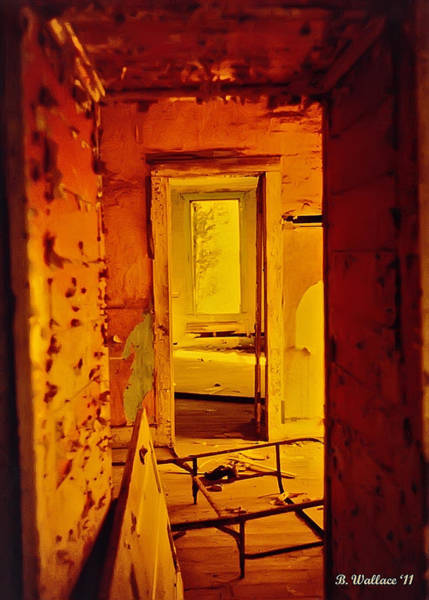 Ish Wall Art - Photograph - When One Door Closes... by Brian Wallace