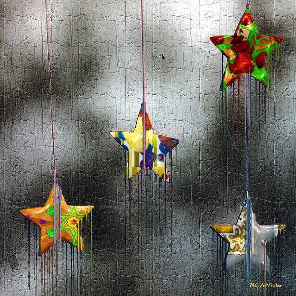 Painting - When Stars Melt Down by RC DeWinter