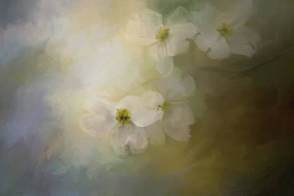 Southern Charm Painting - When The Dogwoods Bloom by Jai Johnson