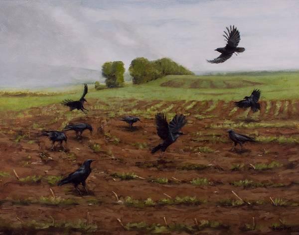Painting - When The Fog Burns Off by Bibi Snelderwaard Brion