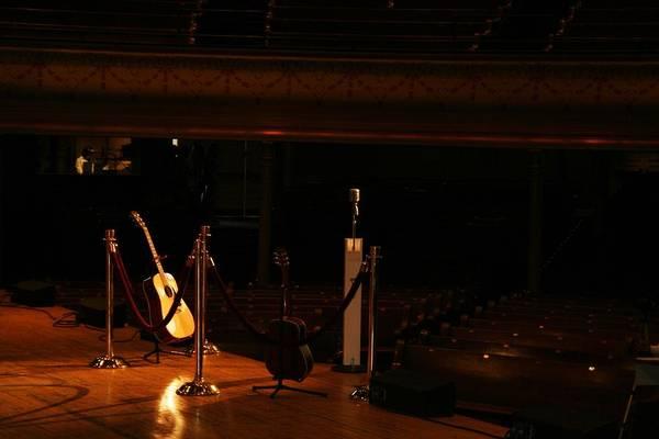 Ryman Auditorium Photograph - When The Ryman Sleeps by John Black