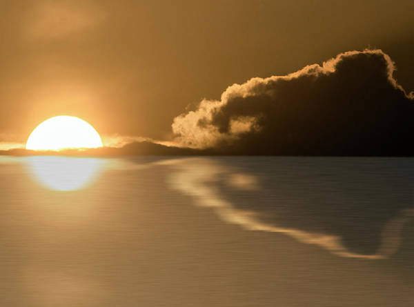 Photograph - When The Sun Goes Down by Wolfgang Stocker