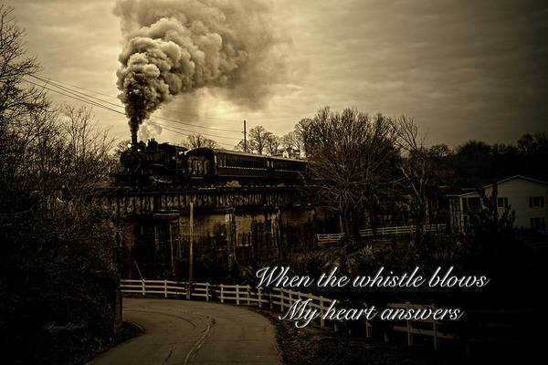 Photograph - When The Whistle Blows by Sharon Popek