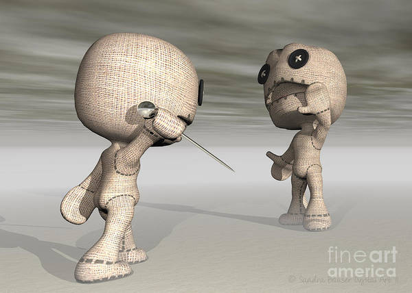 Wall Art - Digital Art - When Toys Go Bad by Sandra Bauser Digital Art