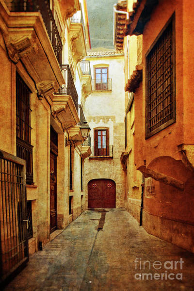 Wall Art - Photograph - When Walls Close In - Valencia by Mary Machare