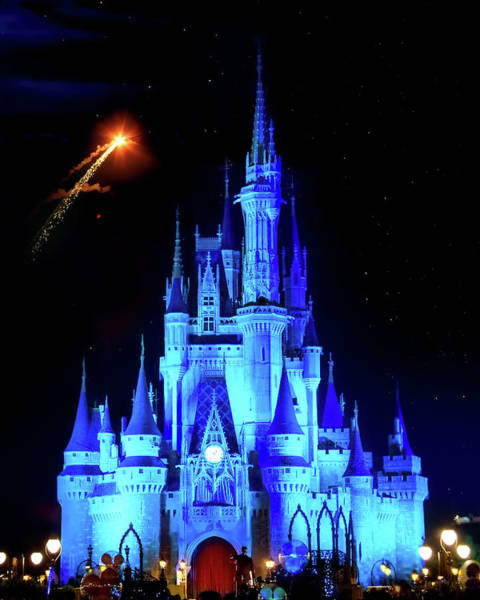 Fireworks Show Wall Art - Photograph - When You Wish Upon A Star by Mark Andrew Thomas