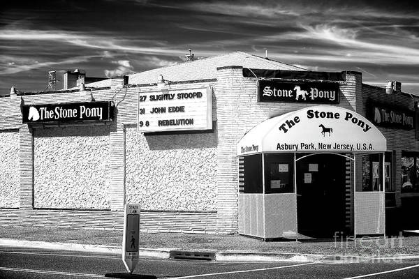 Photograph - Stone Pony Where American Music Legends Come To Play by John Rizzuto