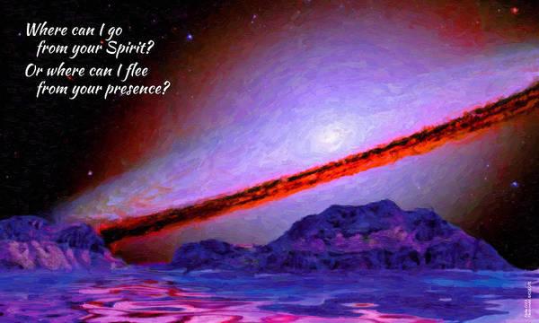 Digital Art - Where Can I Go? by Chuck Mountain