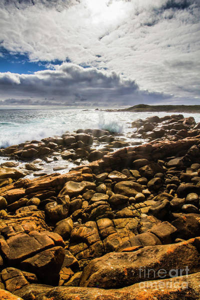 Oceanic Photograph - Where Distant Waves Break by Jorgo Photography - Wall Art Gallery