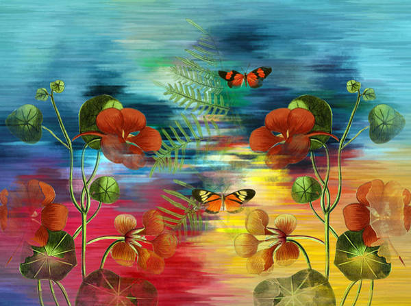 Mixed Media - Where Do Dreamers Go Whimsical Art by Isabella Howard