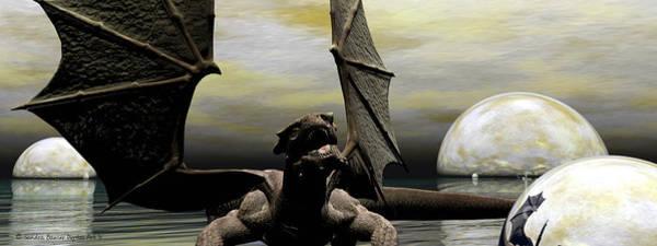 Digital Art - Where Dragons Be by Sandra Bauser Digital Art