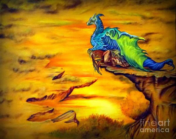 Dragons Valley Art Print