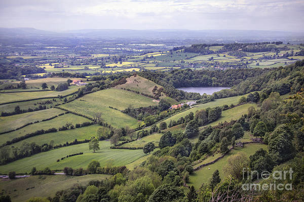 English Countryside Photograph - Where Fields Never End by Evelina Kremsdorf