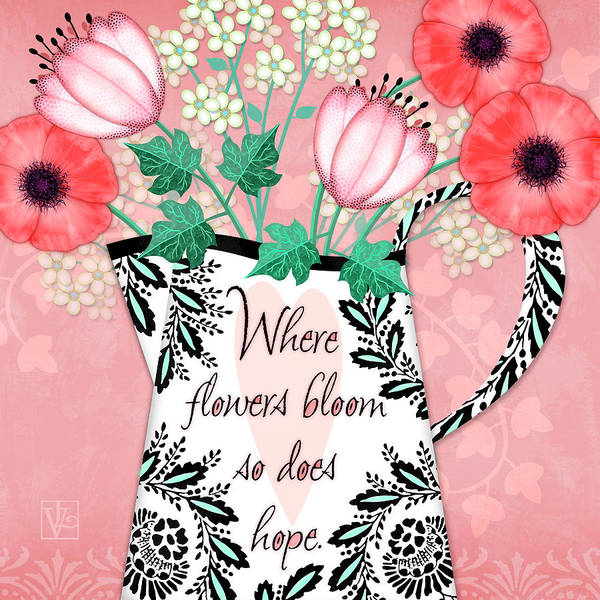 Where Flowers Bloom Art Print