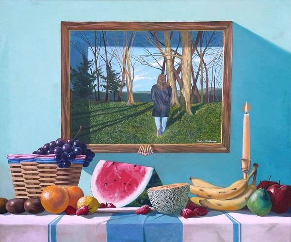 Painting - Where Fruit Of Life Lies Within by Christopher Shellhammer