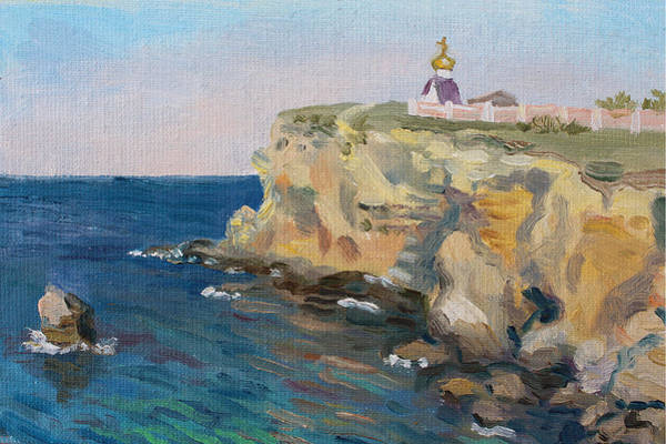 Painting - Where God Is by Alina Malykhina