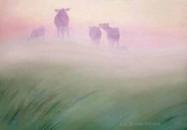 Wall Art - Painting - Where Horizon Greets The Sky by Lee Baker DeVore