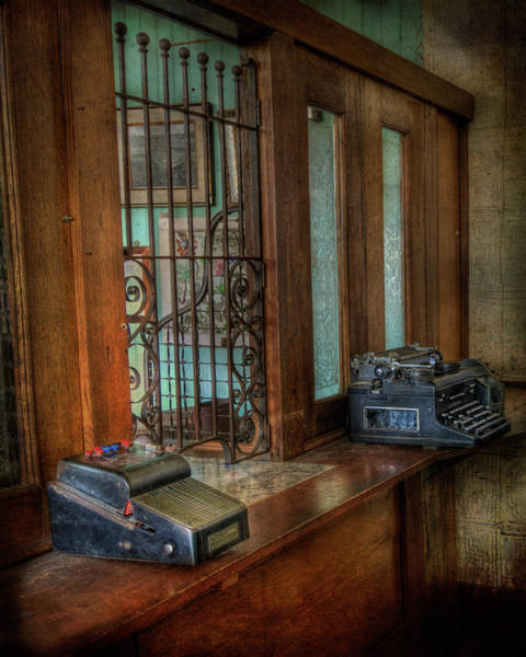 Photograph - Where Is The Teller? by Doug Matthews
