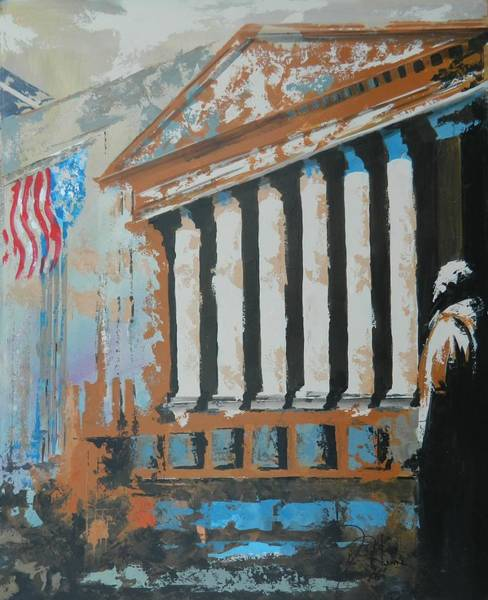 Wall Art - Painting - Where Money Is Made by John Henne