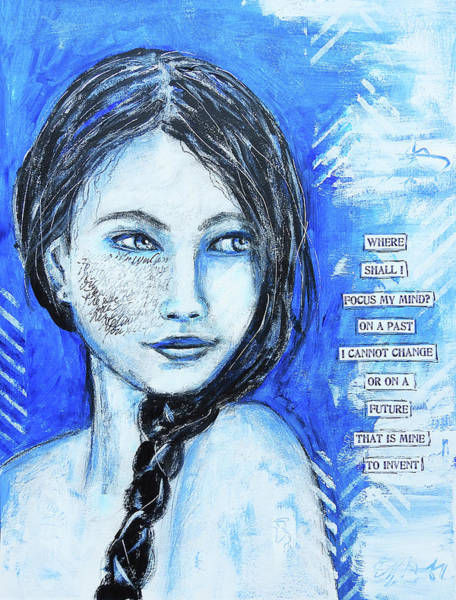 Future Mixed Media - Where Shall I Focus My Mind by Lynn Colwell