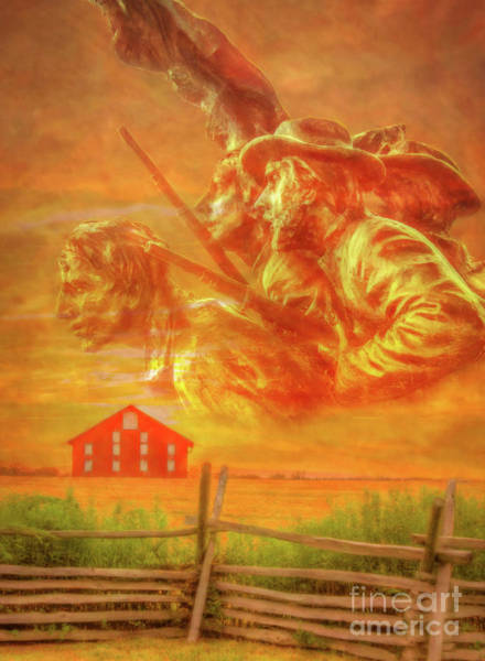 Southern Pride Wall Art - Digital Art - Where Southern Blood Flowed by Randy Steele