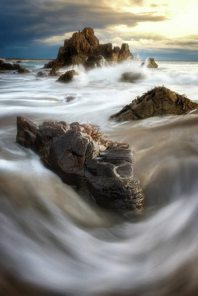 Wall Art - Photograph - Where The Land Meets The Sea by Jeff Bazinet