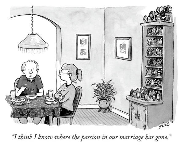 Where The Passion In Our Marriage Has Gone Art Print