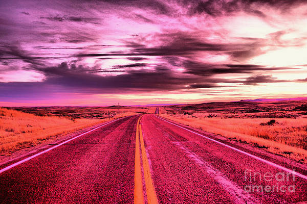 Wall Art - Photograph - Where The Road Never Ends by Jeff Swan