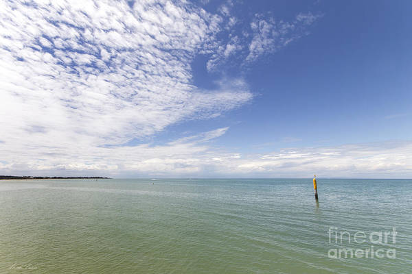 Wall Art - Photograph - Where The Sea Touches The Sky by Linda Lees