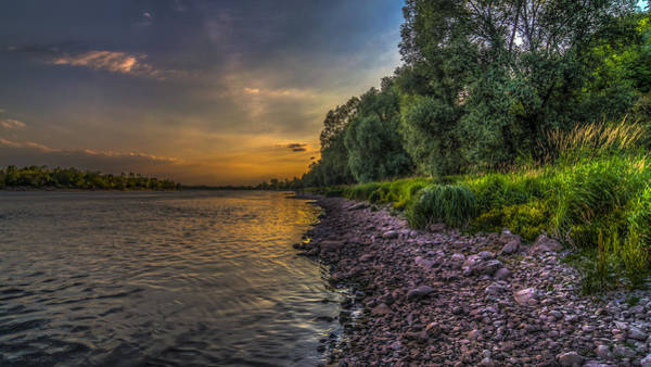 Photograph - Where The Sun Met The River by Julis Simo