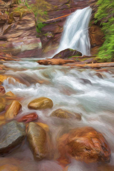 Digital Art - Where The Water Goes II by Jon Glaser